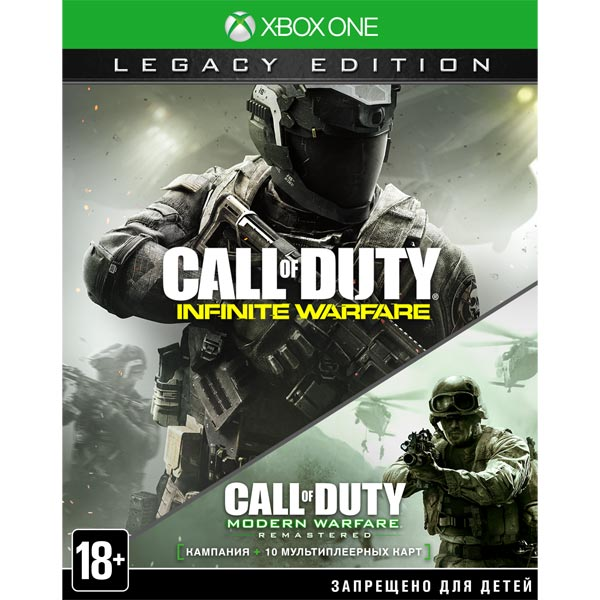 Видеоигра для Xbox One . Call of Duty: Infinite Warfare Legacy Edition call of duty modern warfare 3 hardened edition