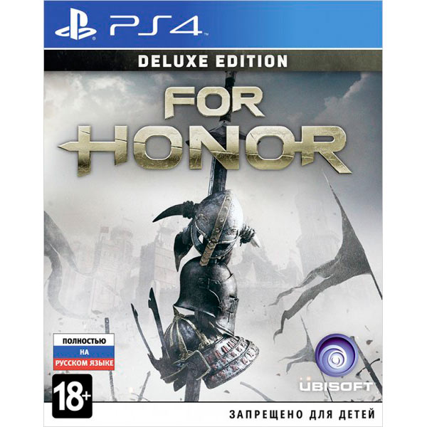 Видеоигра для PS4 . For Honor Deluxe Edition
