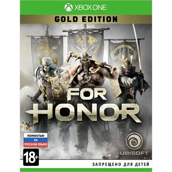Видеоигра для Xbox One . For Honor Gold Edition видеоигра для xbox one forza motorsport 7 ultimate edition