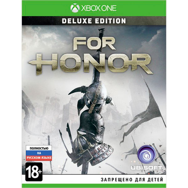 Видеоигра для Xbox One . For Honor Deluxe Edition