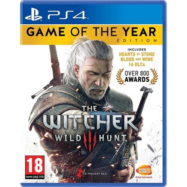 Видеоигра для PS4 . Ведьмак 3: Дикая Охота