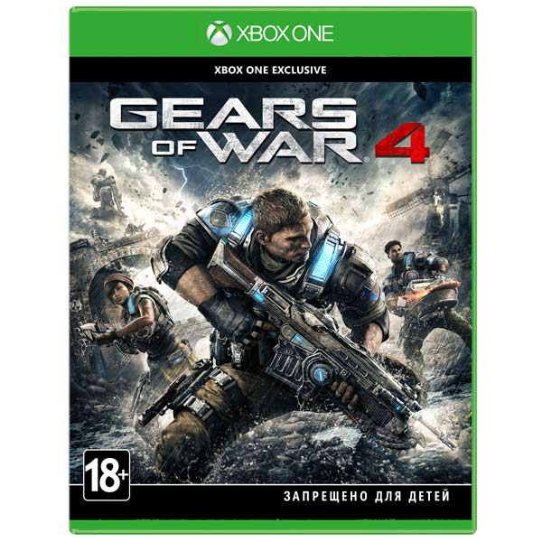 Видеоигра для Xbox One . Gears of War 4 фигурка gears of war 4 jd fenix 17 см