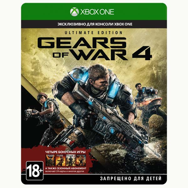 Видеоигра для Xbox One Медиа Gears of War 4 Ultimate