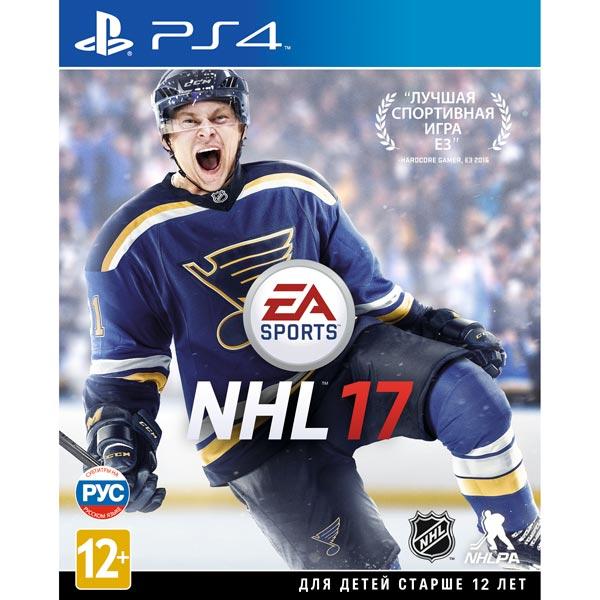 Видеоигра для PS4 . NHL 17