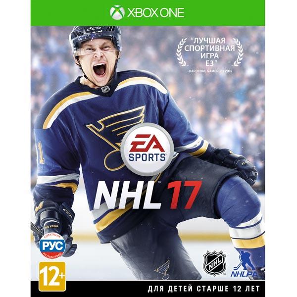 Видеоигра для Xbox One . NHL 17 цена