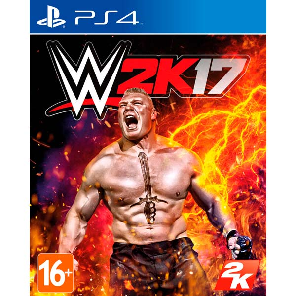 Видеоигра для PS4 . WWE 2K17 игра для playstation 4 wwe 2k16 русская документация