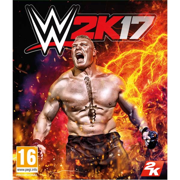 Xbox One игра Take-Two WWE 2K17 Take Two