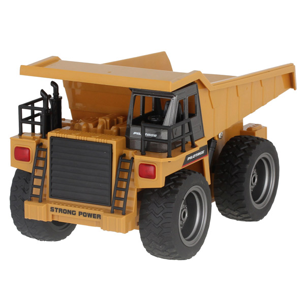 Радиоуправляемый грузовик с кузовом Pilotage 6CH (RC47808) цвет оранжевый/черный