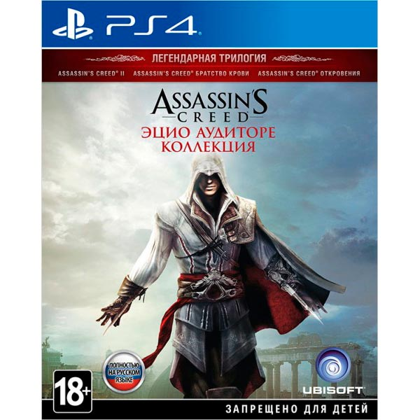 Видеоигра для PS4 . Assassin's Creed The Ezio Collection assassin's creed – the hawk trilogy