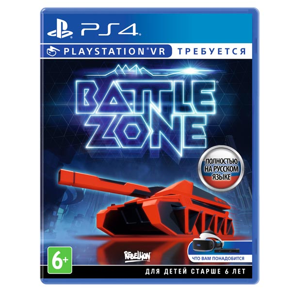 Видеоигра для PS4 . Battlezone (только для VR) robinson the journey только для vr [ps4]