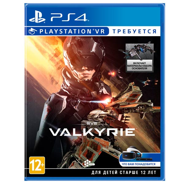 Видеоигра для PS4 . Eve Valkyrie (только для VR) robinson the journey только для vr [ps4]