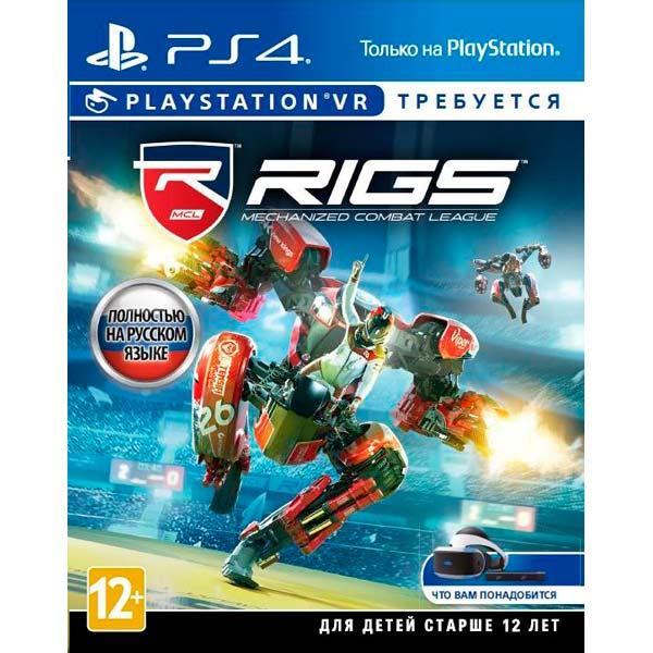 Видеоигра для PS4 . RIGS: Mechanized Combat League (только для VR) видеоигра для ps4 ratchet
