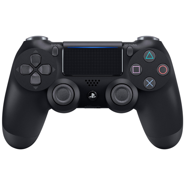 Аксессуар для игровой консоли PlayStation 4 Геймпад DualShock 4 v2 Black (CUH-ZCT2E) аксессуар для игровой консоли playstation 4 зарядное устройство для dualshock 4 cuh zdc1 e
