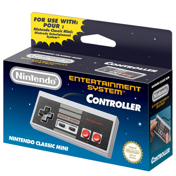 Аксессуар для игровой приставки Nintendo Switch Nintendo Геймпад NES Classic Controller wireless controller for nintendo nes classic mini black