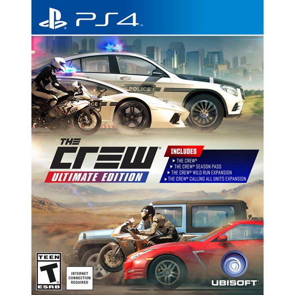 Видеоигра для PS4 . The Crew Ultimate Edition
