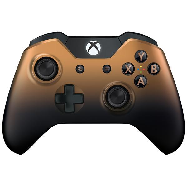Аксессуар для игровой консоли Microsoft беспроводной геймпад Copper Shadow (GK4-00033) цена 2017