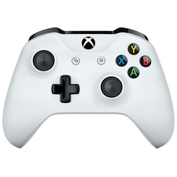 Беспроводной геймпад Microsoft для игровой приставки Xbox One белый (TF5-00004)