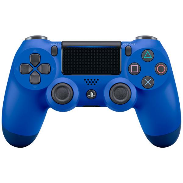 Аксессуар для игровой консоли PlayStation 4 Геймпад DualShock 4 v2 Blue (CUH-ZCT2E) аксессуар для игровой консоли playstation 4 наушники gold wireless jet black cechya 0083