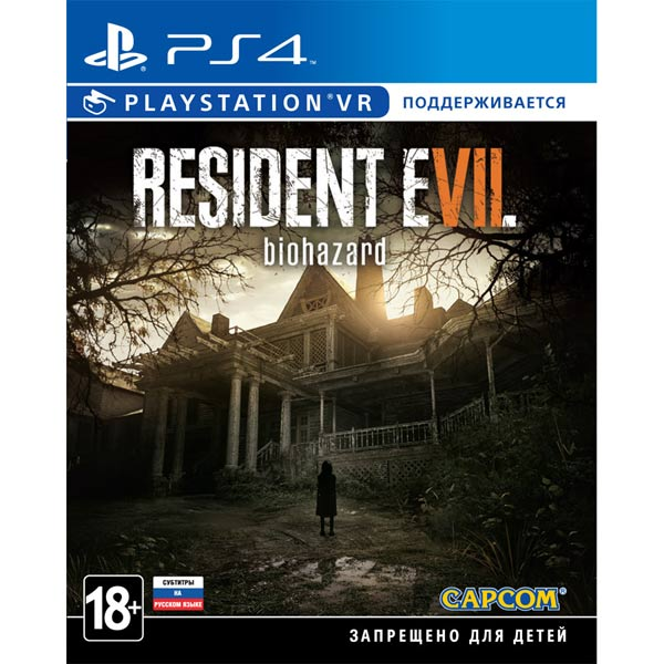 Видеоигра для PS4 . Resident Evil 7:Biohazard VR playstation vr worlds только для vr [ps4]