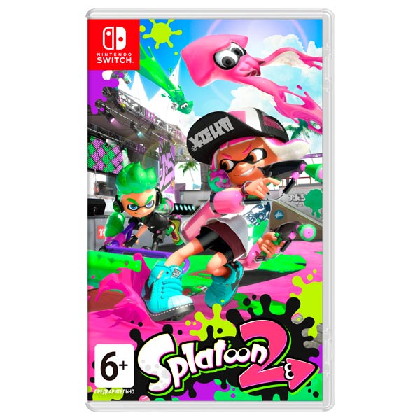 Nintendo, Игра для, Splatoon 2