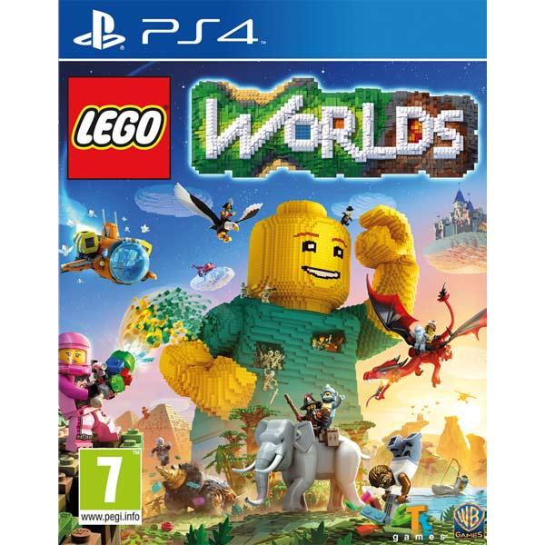 Видеоигра для PS4 . LEGO Worlds видеоигра для ps4 just dance 2018