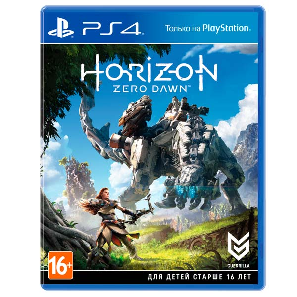 Видеоигра для PS4 . Horizon Zero Dawn игровая приставка playstation 4 хиты playstation в комплекте с тремя играми horizon zero dawn god of war 3 uncharted 4 и подпиской playstation plus 90д