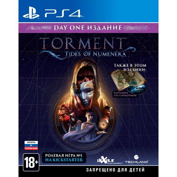 Видеоигра для PS4 . Torment: Tides of Numenera игра для playstation 4 wasteland 2 director s cut русские субтитры