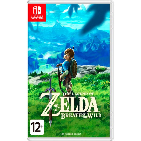 Игра для Nintendo The Legend of Zelda: Breath of the Wild conan omnibus volume 1 birth of the legend