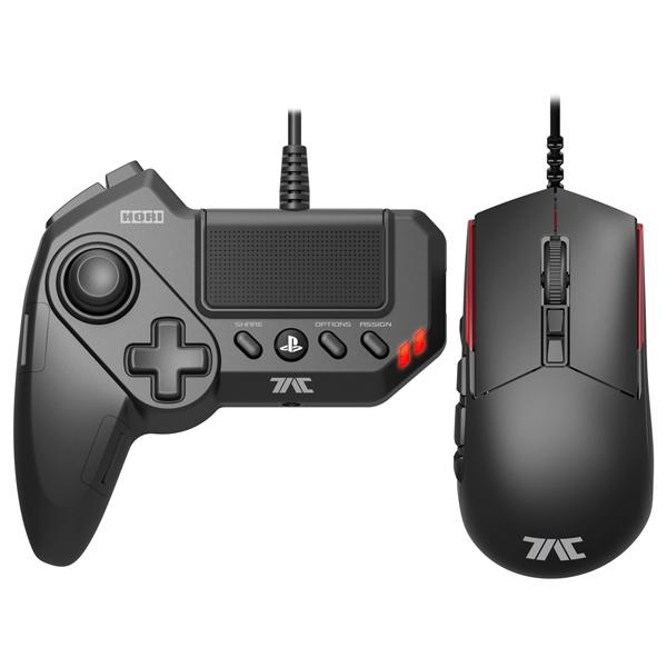Аксессуар для игровой приставки PS4 Hori Мышь+Геймпад T.A.C. Grips (PS4-054E) проводной геймпад hori fighting commander для xbox one pc