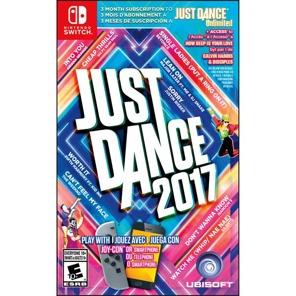 Игра для Nintendo Just Dance 2017 игра для nintendo just dance 2018