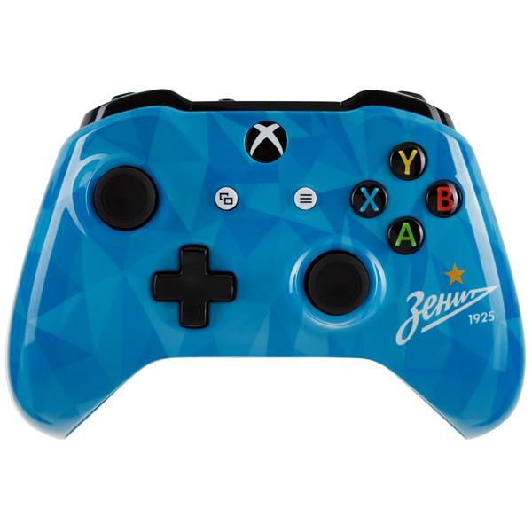 Аксессуар для игровой консоли Microsoft беспроводной геймпад Зенит - Северное сияние аксессуар для игровой консоли rainbo накладки на стики для геймпада зенит