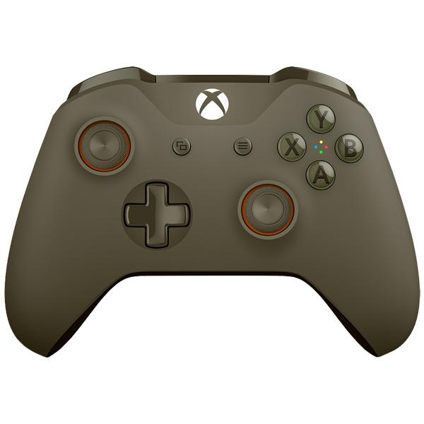 Аксессуар для игровой консоли Microsoft беспроводной геймпад Green/Orange (WL3-00036)