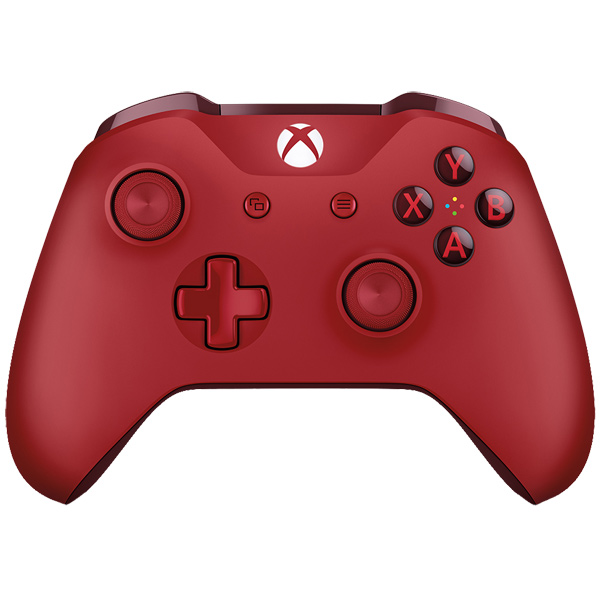 Аксессуар для игровой консоли Microsoft беспроводной геймпад Red (WL3-00028) геймпад беспроводной microsoft xbox one wl3 00032 recon tech special edition