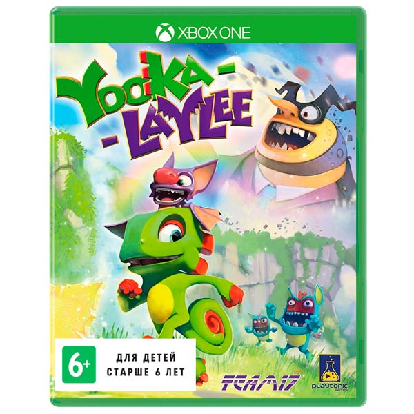 Видеоигра для Xbox One . Yooka-Laylee sleeping dogs definitive edition игра для xbox one