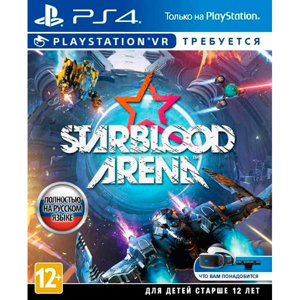 Видеоигра для PS4 . StarBlood Arena (только для VR) robinson the journey только для vr [ps4]