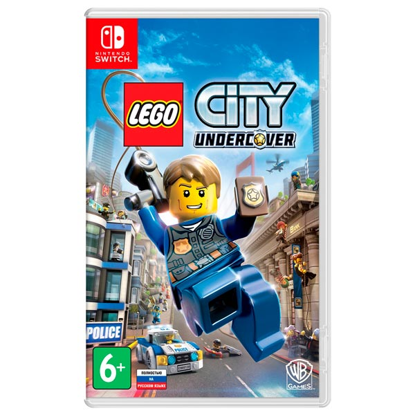 Картинка для Switch игра Nintendo Lego City Undercover Switch