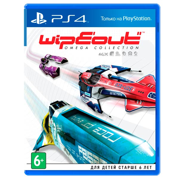 Видеоигра для PS4 . WipEout Omega Collection russia ckf alloy finger gyro stress relief toys fidget spinner