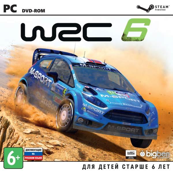 Видеоигра для PC . WRC 6 FIA World Rally Championship цена 2017