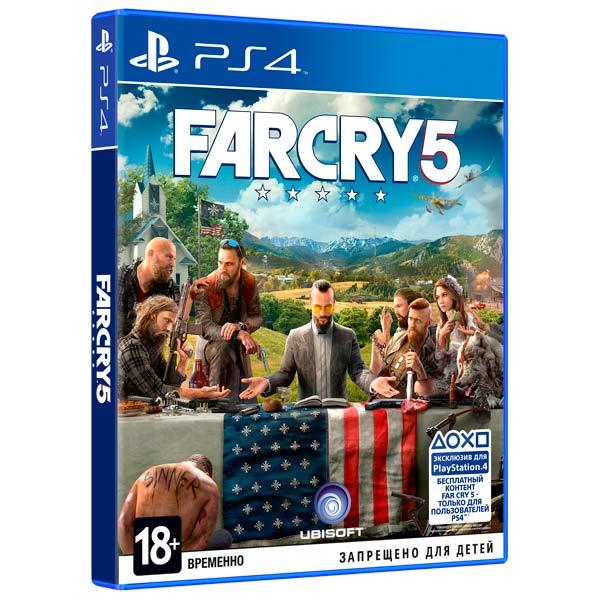 Видеоигра для PS4 Медиа Far Cry 5 видеоигра для pc медиа rise of the tomb raider 20 летний юбилей