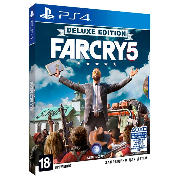 Видеоигра для PS4 Медиа Far Cry 5 Deluxe Edition видеоигра для ps4 hitman definitive edition