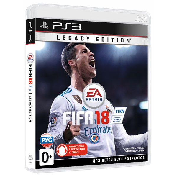 Игра для PS3 . FIFA 18