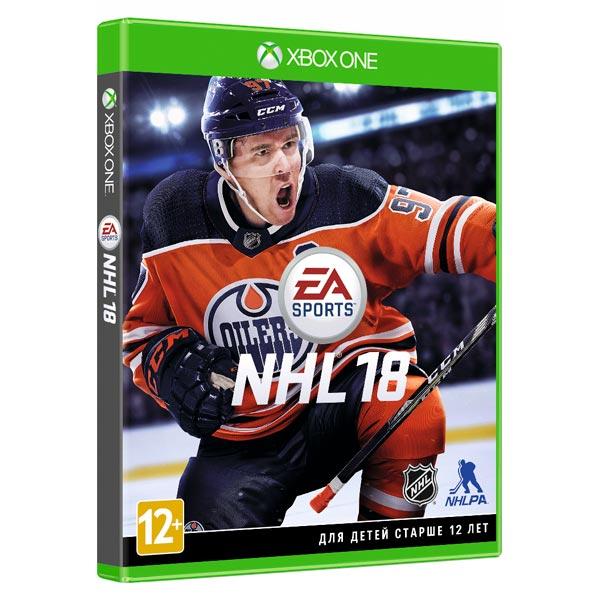 Xbox One игра EA NHL 18