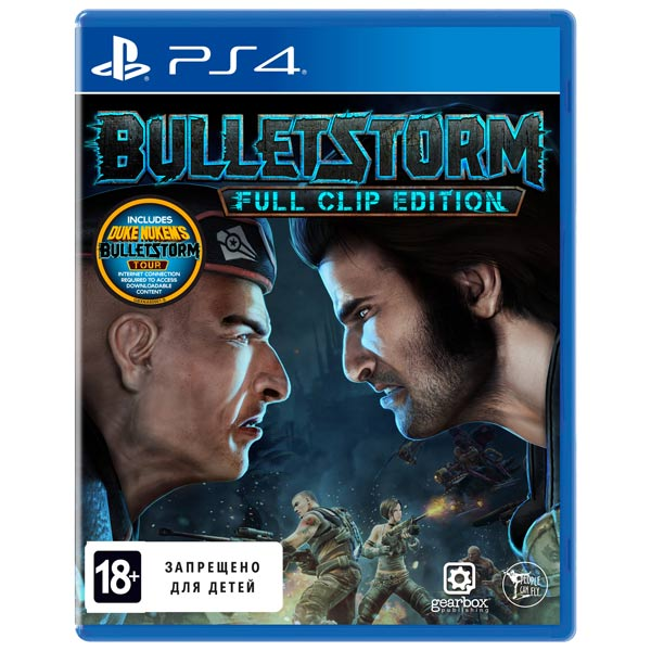 Видеоигра для PS4 . Bulletstorm: Full Clip edition