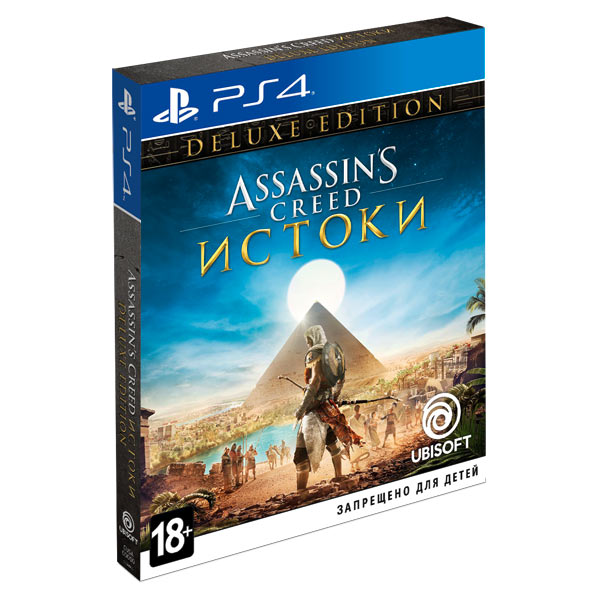 Видеоигра для PS4 . Assassin's Creed Истоки Deluxe Edition
