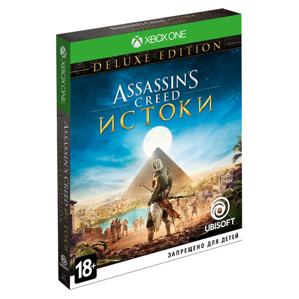 Видеоигра для Xbox One . Assassin's Creed Истоки Deluxe Edition видеоигра для xbox one forza motorsport 7 ultimate edition