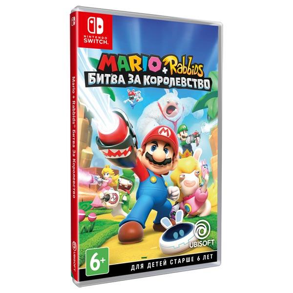 Игра для Nintendo Mario + Rabbids Битва за Королевство