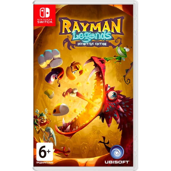 все цены на Игра для Nintendo Rayman Legends Definitive Edition