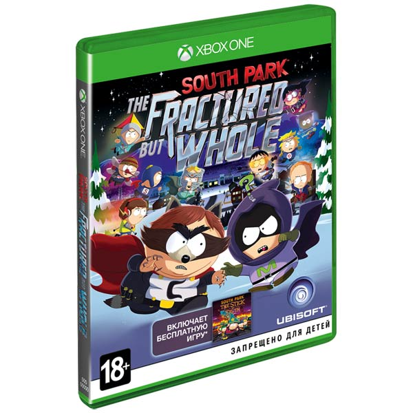 Видеоигра для Xbox One . South Park: The Fractured But Whole south park палка истины xbox 360