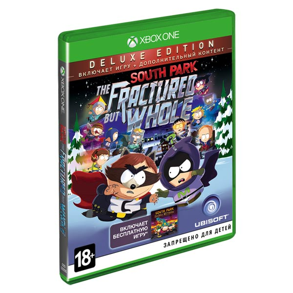 Видеоигра для Xbox One . South Park: The Fractured But Whole Deluxe Ed электронная версия для xbox microsoft the surge a walk in the park game add on