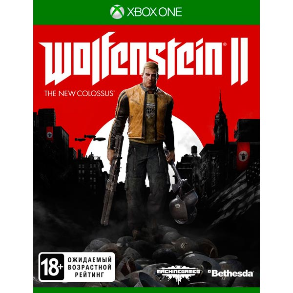 Видеоигра для Xbox One . Wolfenstein II: The New Colossus видеоигра для xbox one overwatch origins edition
